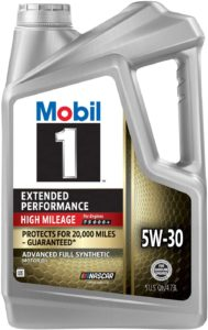 Extended Performance High Mileage Full Synthetic Motor Oil 5W-30